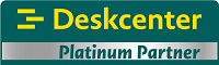 DeskCenter gold partner logo