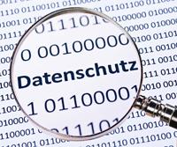 Datenschutz klein