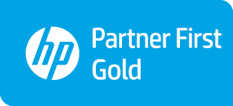 HP Inc Gold Partner First Insignia